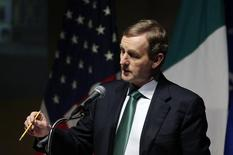 Ireland's Prime Minister Enda Kenny addresses the U.S. Chamber of Commerce in Washington March 13, 2014.  REUTERS/Gary Cameron