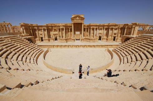 The historic city of Palmyra