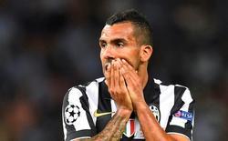 Atacante Carlos Tévez, da Juventus, durante a final da Liga dos Campeões contra o Barcelona, em Berlim. 06/06/2015 REUTERS/Dylan Martinez