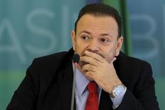 Ministro Edinho Silva no Palácio do Planalto 31/3/2015 REUTERS/Ueslei Marcelino