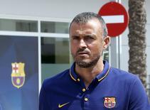 Técnico do Barcelona, Luis Enrique. 14/07/2015 REUTERS/Gustau Nacarino