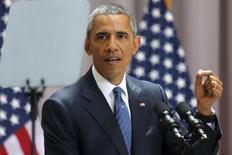 U.S. President Barack Obama  in Washington August 5, 2015. REUTERS/Jonathan Ernst