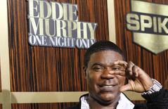 Morgan chega para programa em homenagem a Eddie Murphy em Beverly Hills. 3/11/2012.   REUTERS/Mario Anzuoni