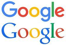Google Inc reveló el martes un rediseño de su icónico logo, la quinta modificación de este tipo desde la fundación del buscador de Internet en 1998, anunció la compañía en una publicación en su blog. En la imagen, comparación del nuevo logo (arriba) con el anterior. REUTERS/Google/Handout