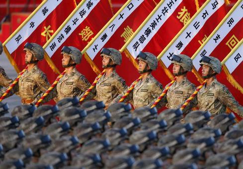 China's massive military parade