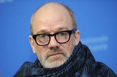 Musician Michael Stipe arrives for the screening of the movie 'Fifty Shades of Grey' at the 65th Berlinale International Film Festival in Berlin February 11, 2015.                  REUTERS/Stefanie Loos