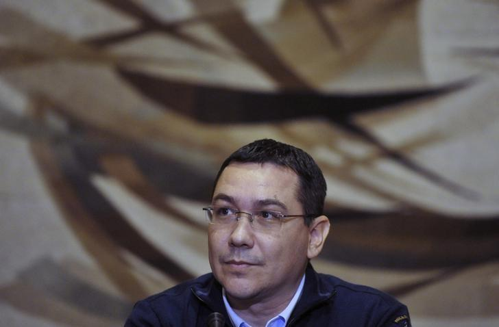 Romania's Prime Minister Victor Ponta attends a news conference in Bucharest November 17, 2014. REUTERS/Grigore Popescu