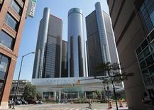 General Motors Co. headquarters is seen in Detroit, Michigan, September 17, 2015.   REUTERS/Rebecca Cook