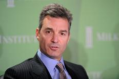 """Daniel Loeb, CEO, Third Point LLC, participates in the """"Financial Firms: Past, Present and Future"""" panel at the 2010 Milken Institute Global Conference in Beverly Hills, California April 27, 2010. REUTERS/Phil McCarten"""