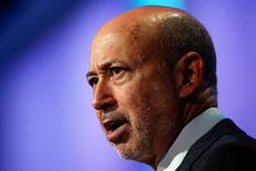 Goldman Sachs Group, Inc. Chairman and Chief Executive Officer Lloyd Blankfein  at the Clinton Global Initiative 2014 (CGI) in New York, September 24, 2014.  REUTERS/Shannon Stapleton