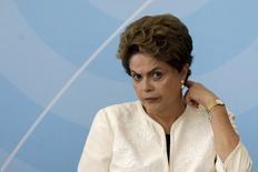 Presidente Dilma Rousseff durante evento no Palácio do Planalto. 24/11/2015. REUTERS/Ueslei Marcelino