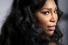 """Tennis player Serena Williams arrives for the """"Glamour Women of the Year Awards"""" in the Manhattan borough of New York, November 9, 2015. REUTERS/Carlo Allegri"""