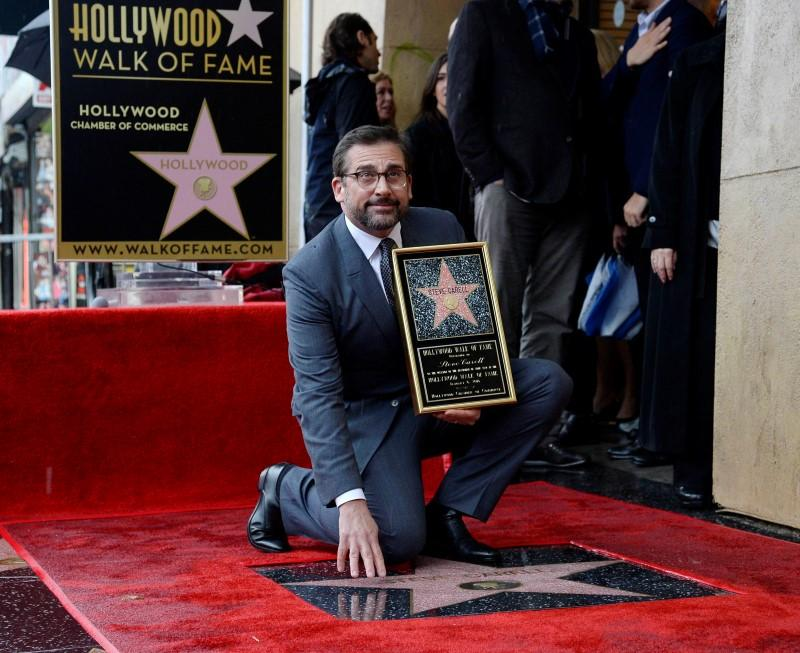 Image result for steve carell walk of fame