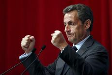 Ex-presidente francês Nicolas Sarkozy. 06/01/2016  REUTERS/Francois Lenoir