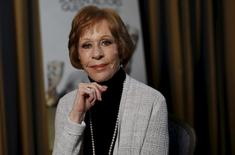 Actress Carol Burnett poses for a portrait in Pasadena, California January 7, 2016. REUTERS/Mario Anzuoni