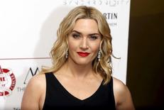 British actress Kate Winslet poses for photographers at the 36th London Critics' Circle Film Awards in London, Britain January 17, 2016. REUTERS/Neil Hall