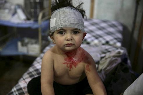 Syria's children: In the crossfire