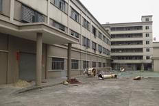 Fábrica fechada em Dongguan, na China. 25/02/2016 REUTERS/James Pomfret