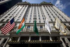The Plaza Hotel is seen in midtown Manhattan in New York in this August 19, 2015 file photo.  REUTERS/Brendan McDermid/Files