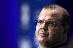 Presidente do Banco Central, Alexandre Tombini. 08/10/2015 REUTERS/Paco Chuquiure