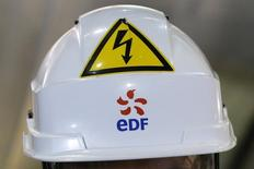 Le directeur général d'EDF Energy, Vincent de Rivaz, a déclaré à des parlementaires britanniques que le projet de centrale nucléaire d'Hinkley Point, en Grande-Bretagne, serait mené à bien. /Photo prise le 17 mars 2016/REUTERS/Stéphane Mahé