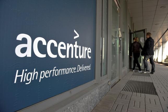 Office of Accenture in downtown Helsinki April 27, 2011. REUTERS/LEHTIKUVA/Jussi Nukari