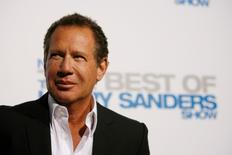"Garry Shandling attends the party for the release of the DVD ""Not Just the Best of The Larry Sanders Show"" in Beverly Hills in this file April 10, 2007 photo. REUTERS/Mario Anzuoni"