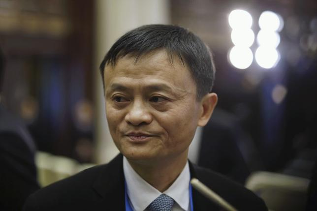 Alibaba Executive Chairman Jack Ma attends the opening ceremony of the second annual World Internet Conference in Wuzhen town of Jiaxing, Zhejiang province, China, December 16, 2015. REUTERS/Aly Song