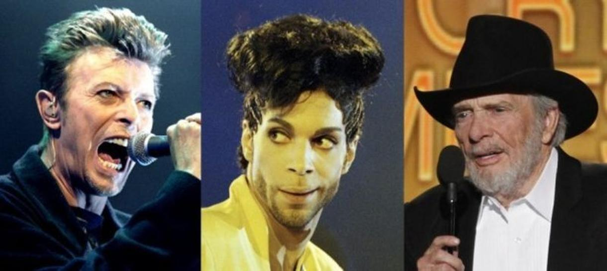 Commentary: Prince, Bowie and Haggard: Icons? Legends