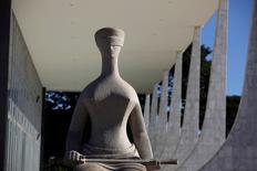 Prédio do Supremo Tribunal Federal em Brasília. 7/4/2010.   REUTERS/Ricardo Moraes