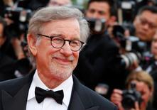 Diretor Steven Spielberg no Festival Internacional de Cinema de Cannes.    14/05/2016       REUTERS/Yves Herman