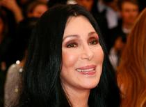 """Cher arrives at the Metropolitan Museum of Art Costume Institute Gala 2015 celebrating the opening of """"China: Through the Looking Glass,"""" in Manhattan, New York May 4, 2015.   REUTERS/Lucas Jackson/File Photo"""