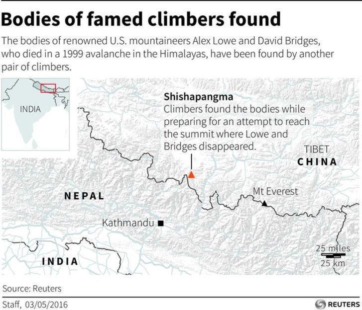 Bodies of U.S. climbers left on Tibetan peak out of