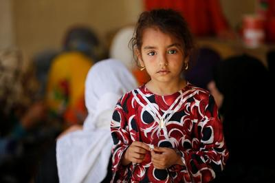 Displaced from Falluja