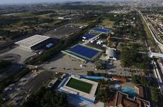 Vista aérea das instalações olímpicas de Deodoro, no Rio de Janeiro.     25/04/2016    REUTERS/Ricardo Moraes