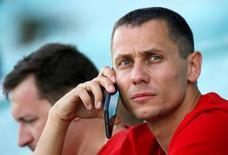 Yury Borzakovsky em competição na Rússia.  20/6/16.  REUTERS/Sergei Karpukhin
