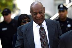 Actor and comedian Bill Cosby arrives at the Montgomery County Courthouse for a pre-trial hearing on sexual assault charges in Norristown, Pennsylvania May 24, 2016.  REUTERS/Mark Makela.
