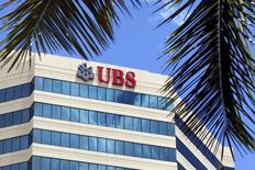 The building housing the headquarters of Swiss bank UBS is seen in San Juan, Puerto Rico, July 31, 2015. REUTERS/Alvin Baez/File Photo