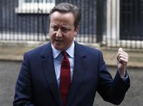 Primeiro-ministro britânico, David Cameron.    11/07/2016     REUTERS/Peter Nicholls