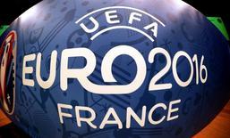 Logo da Euro 2016 visto em Paris.    20/04/2016      REUTERS/Charles Platiau