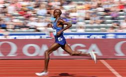 Britain Athletics - Birmingham Diamond League - Alexander Stadium, Birmingham - 5/6/16 Great Britain's Mo Farah wins the men's 3000m Action Images via Reuters / Matthew Childs Livepic