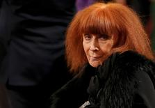 French fashion designer Sonia Rykiel attends a ceremony at the Elysee Palace in Paris, November 26, 2013.  REUTERS/Christian Hartmann/File Photo