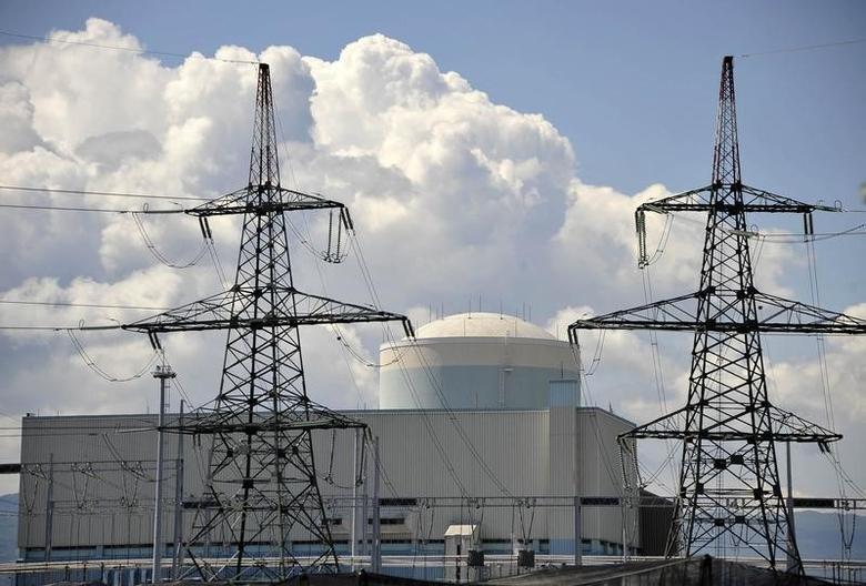 Nuclear power plant is seen in Krsko about 70 km (43 miles)  east of capital Ljubljana June 16, 2011.   REUTERS/Srdjan Zivulovic/Files