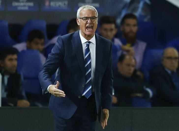 Britain Soccer Football - Leicester City v FC Porto - UEFA Champions League Group Stage - Group G - King Power Stadium, Leicester, England - 27/9/16Leicester City manager Claudio Ranieri Reuters / Eddie KeoghLivepic
