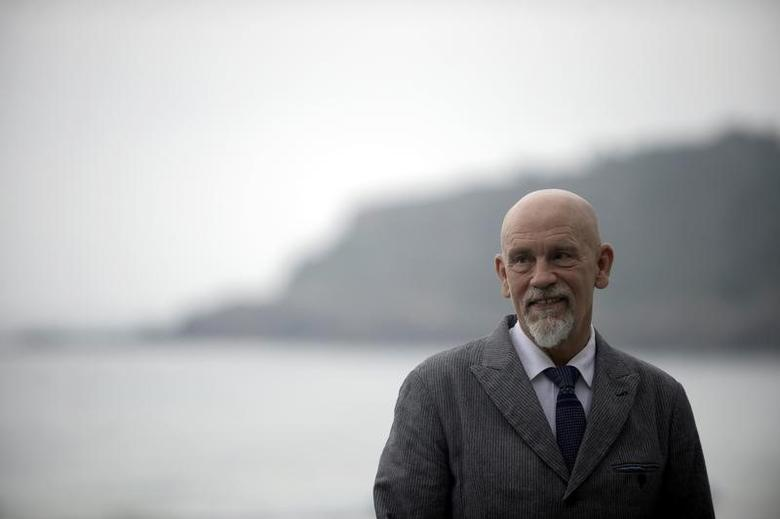 American actor John Malkovich attends a photocall to promote the film ''The Casanova Variations'' during the 62nd San Sebastian Film Festival in San Sebastian, Spain September 22, 2014. REUTERS/Vincent West/File Photo