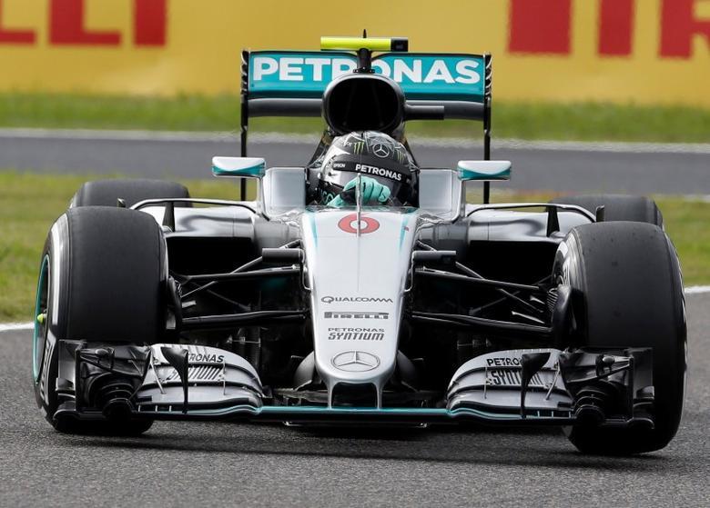 Formula One - Japanese Grand Prix - Suzuka Circuit, Japan - 8/10/16. Mercedes' Nico Rosberg of Germany in action during the qualifying session. REUTERS/Toru Hanai