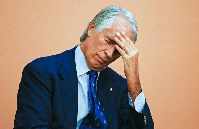 10月11日、イタリア五輪委員会のジョバンニ・マラゴ会長は、2024年夏季五輪の招致からローマが正式に撤退したと明らかにした(2016年 ロイター/Tony Gentile)