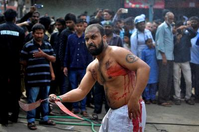 Muharram mourning in India