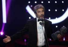 Darín fala durante entrega do prêmio Goya em Madri  7/2/2016 REUTERS/Susana Vera