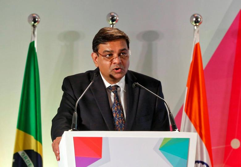 The Reserve Bank of India (RBI) Governor Urjit Patel addresses a gathering at a seminar in Mumbai, India, October 13, 2016. REUTERS/Shailesh Andrade